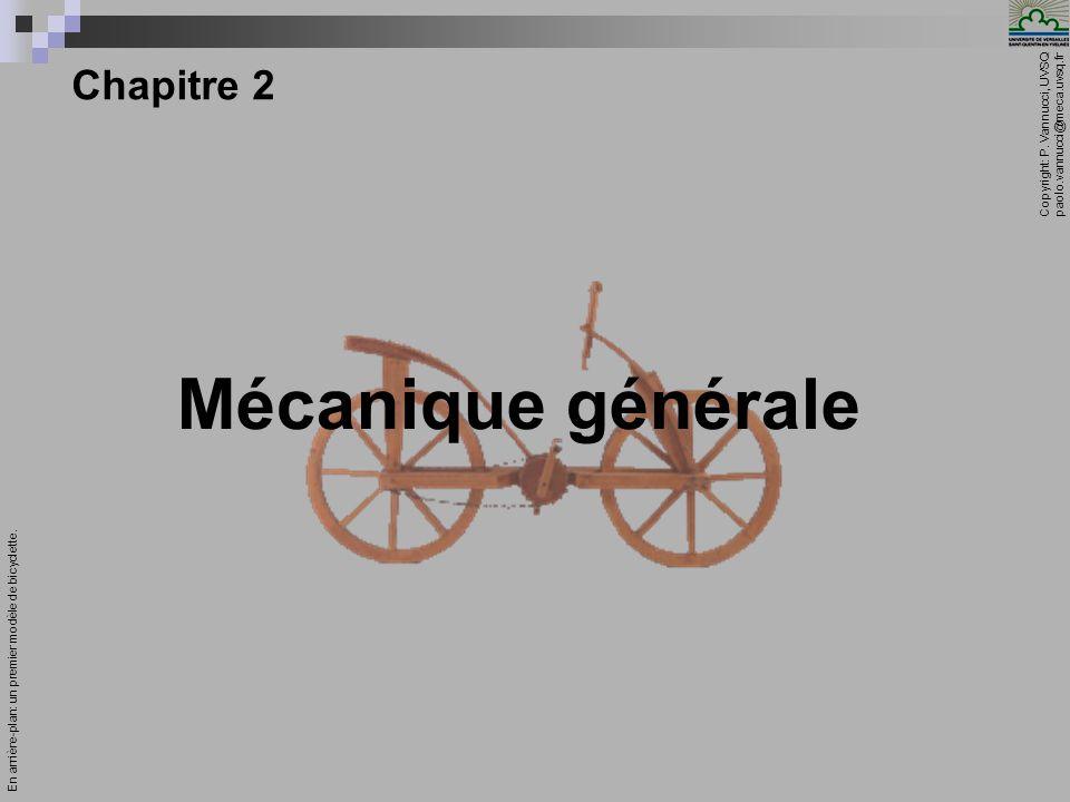 Mécanique générale Chapitre 2