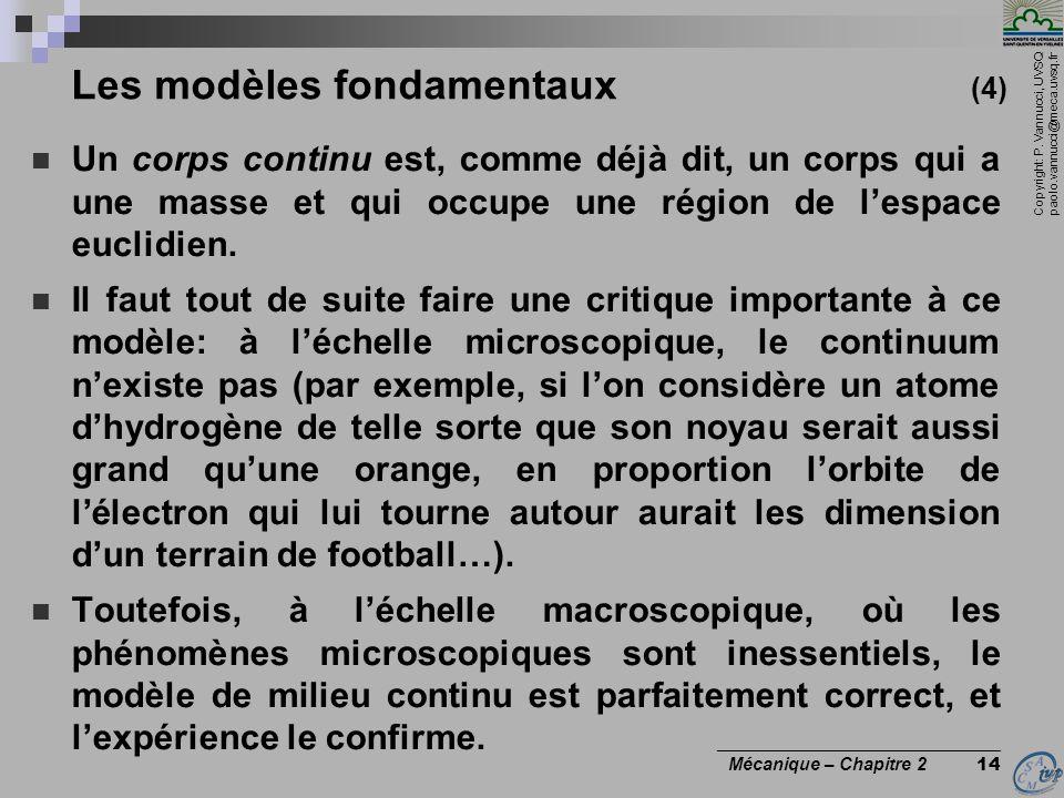 Les modèles fondamentaux (4)
