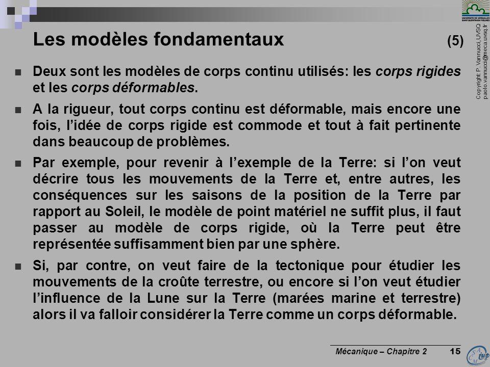 Les modèles fondamentaux (5)