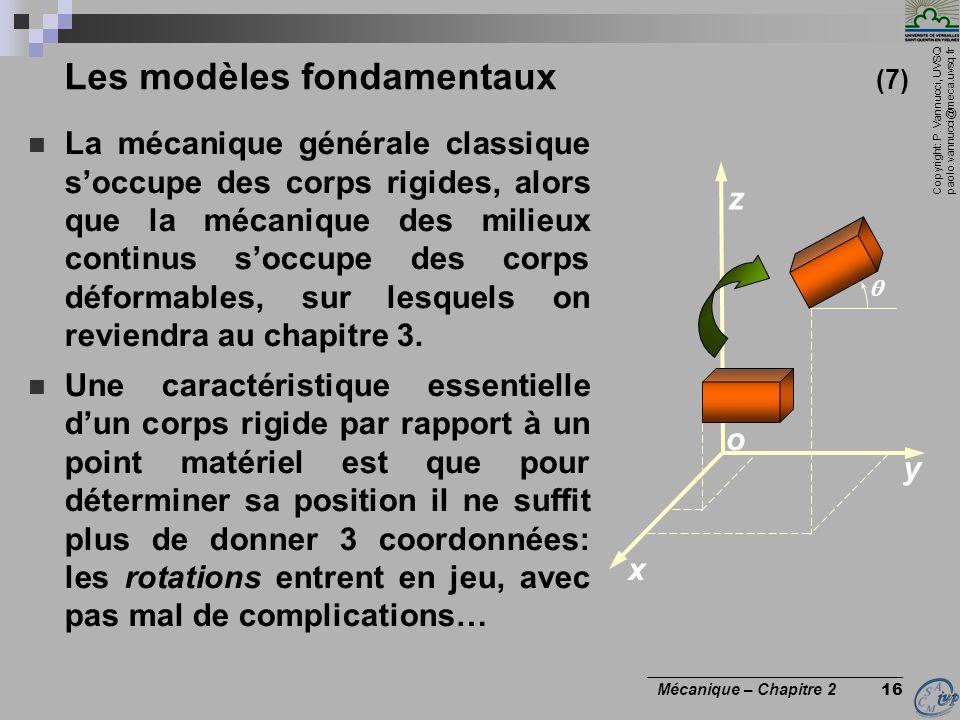 Les modèles fondamentaux (7)