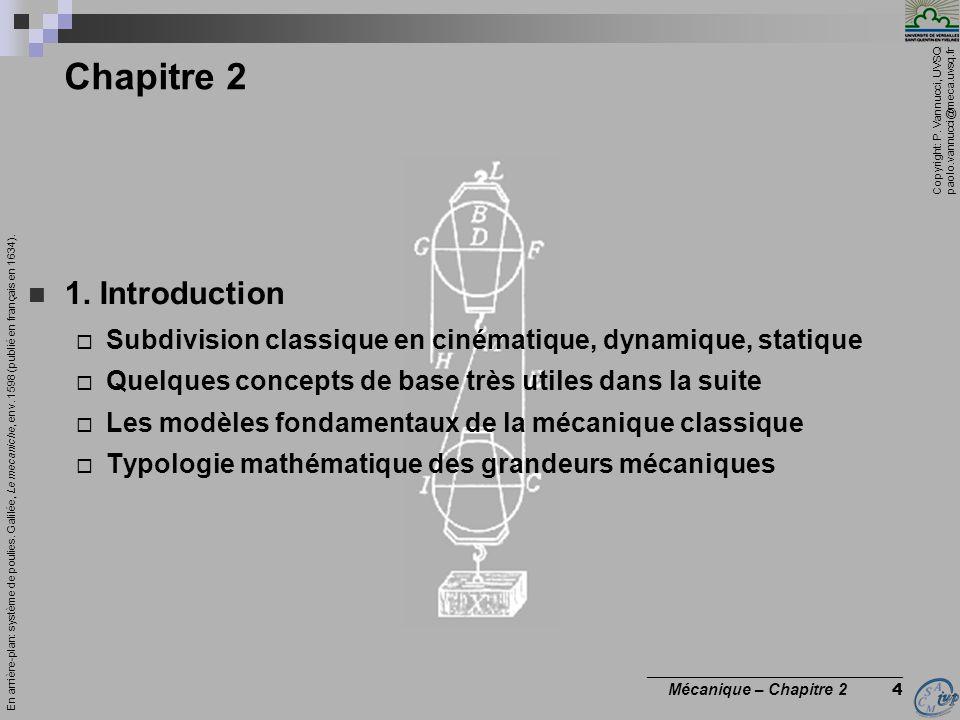 Chapitre 2 1. Introduction