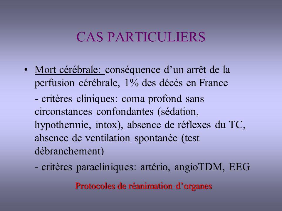 Protocoles de réanimation d'organes