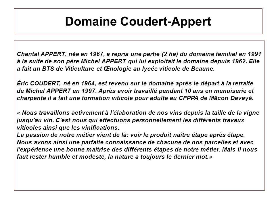 Domaine Coudert-Appert