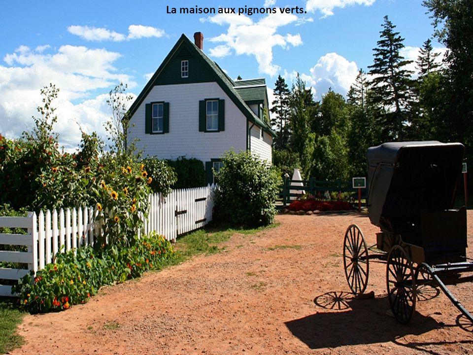 La maison aux pignons verts.