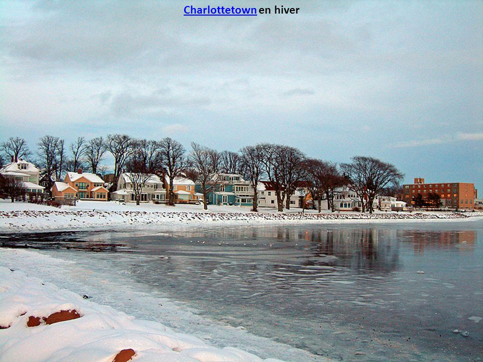 Charlottetown en hiver