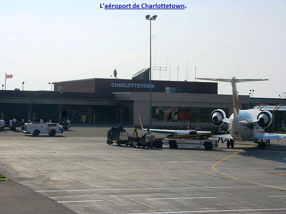 L aéroport de Charlottetown.