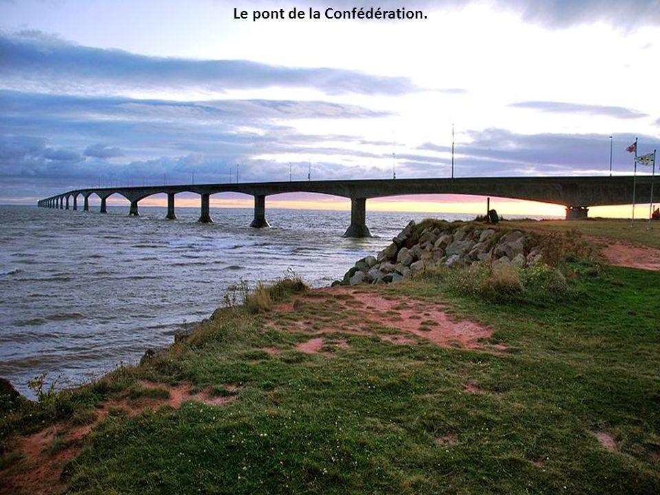 Le pont de la Confédération.