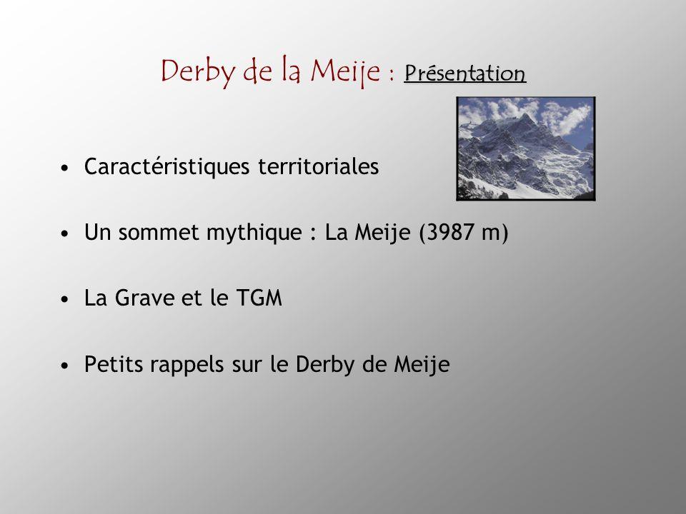 Derby de la Meije : Présentation