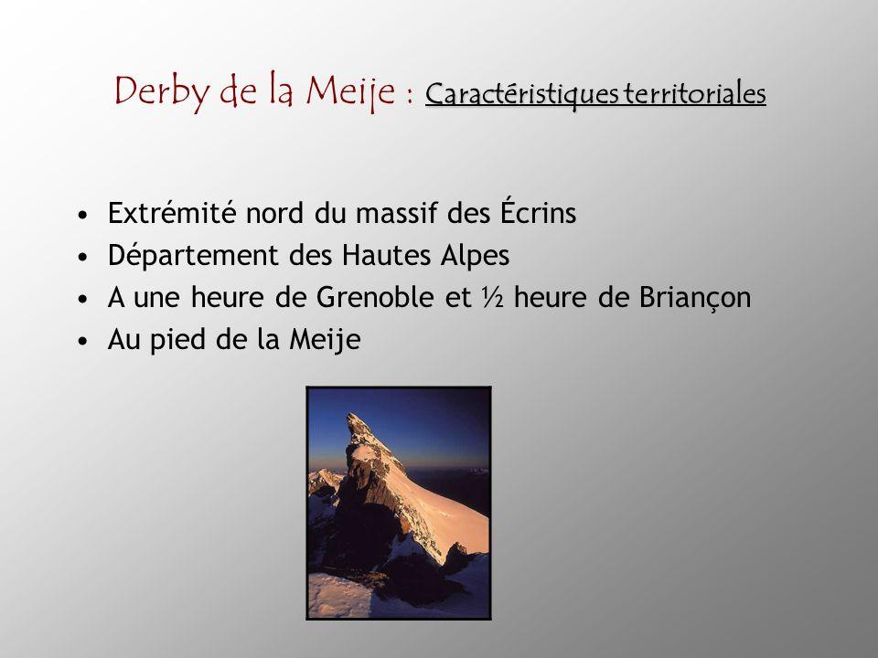Derby de la Meije : Caractéristiques territoriales