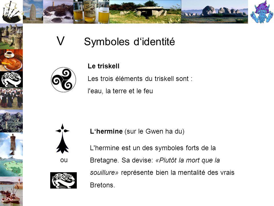 V Symboles d'identité Le triskell