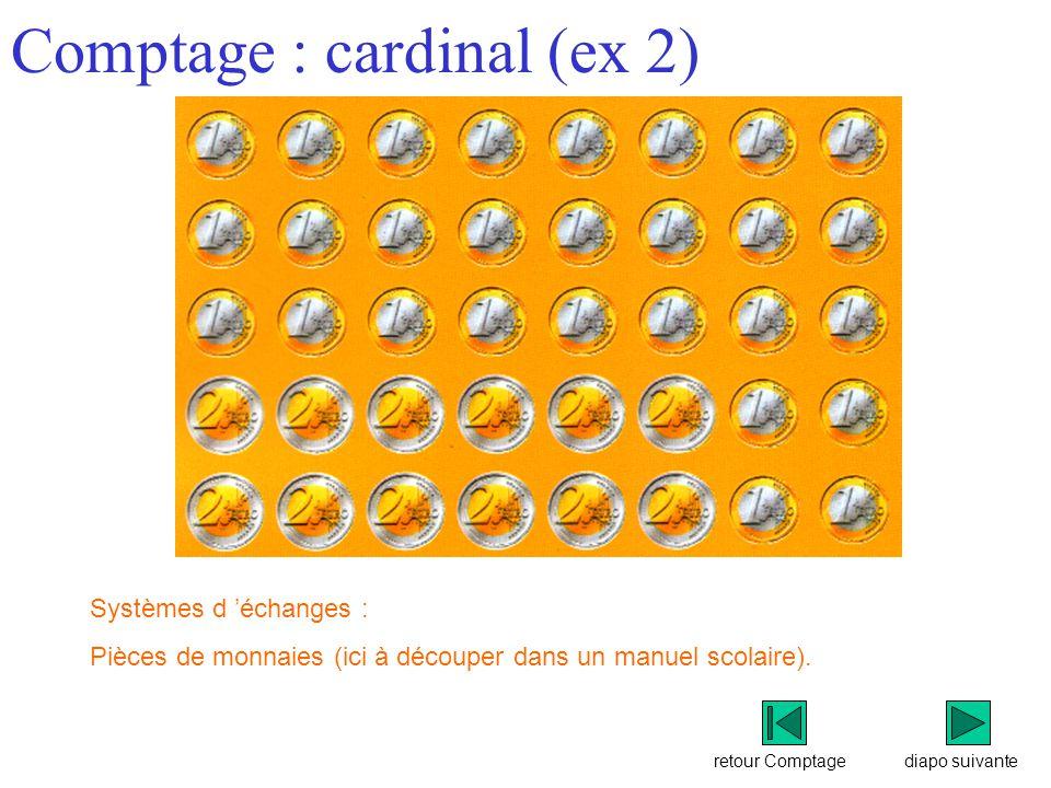 Comptage : cardinal (ex 2)