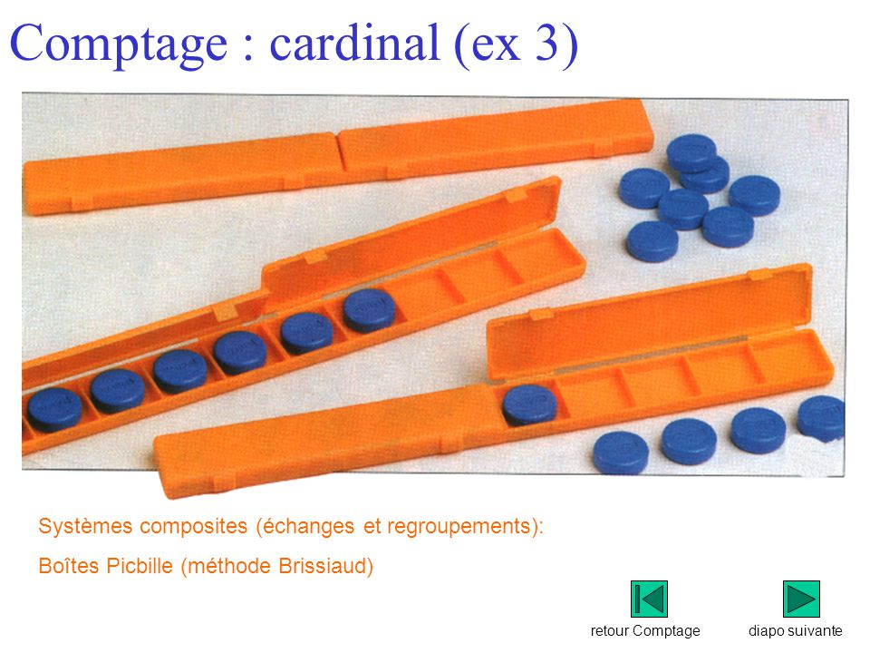 Comptage : cardinal (ex 3)