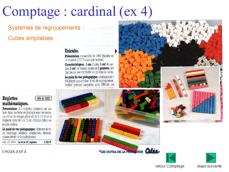 Comptage : cardinal (ex 4)