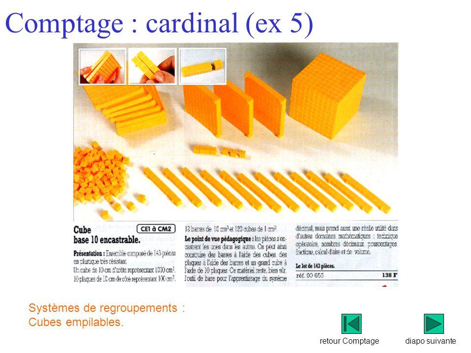 Comptage : cardinal (ex 5)