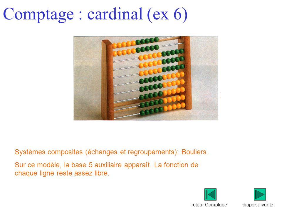 Comptage : cardinal (ex 6)