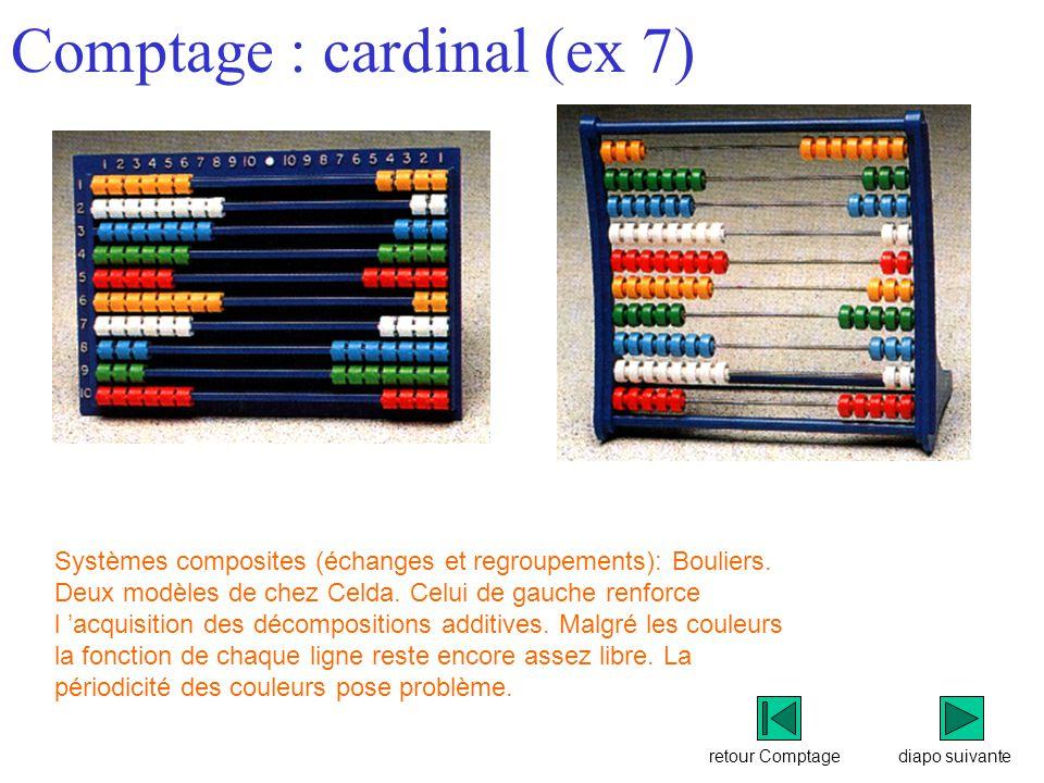 Comptage : cardinal (ex 7)