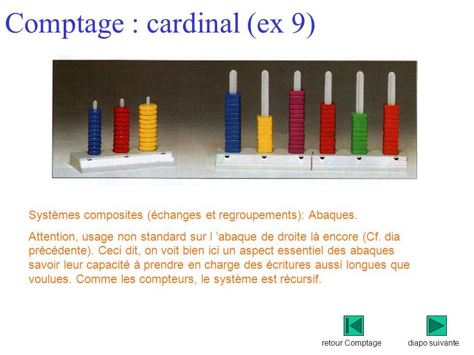 Comptage : cardinal (ex 9)