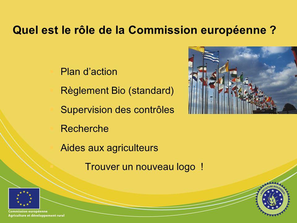 Quel est le rôle de la Commission européenne
