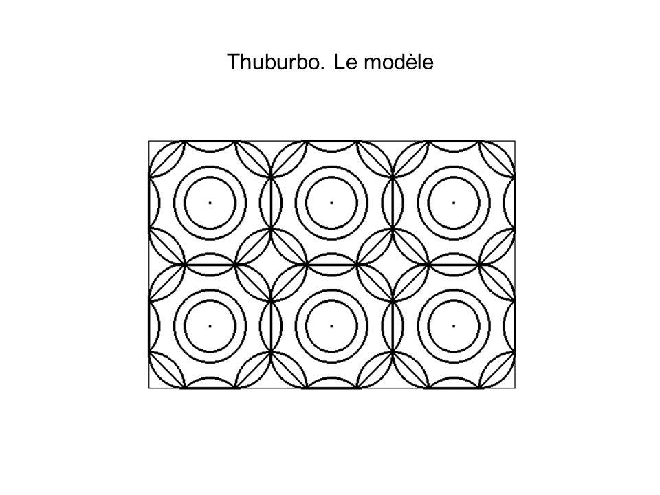 Thuburbo. Le modèle