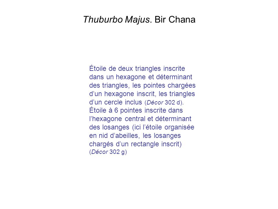 Thuburbo Majus. Bir Chana