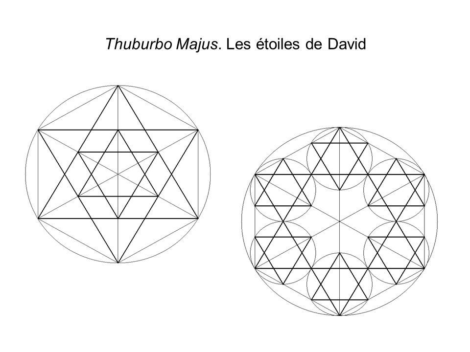 Thuburbo Majus. Les étoiles de David