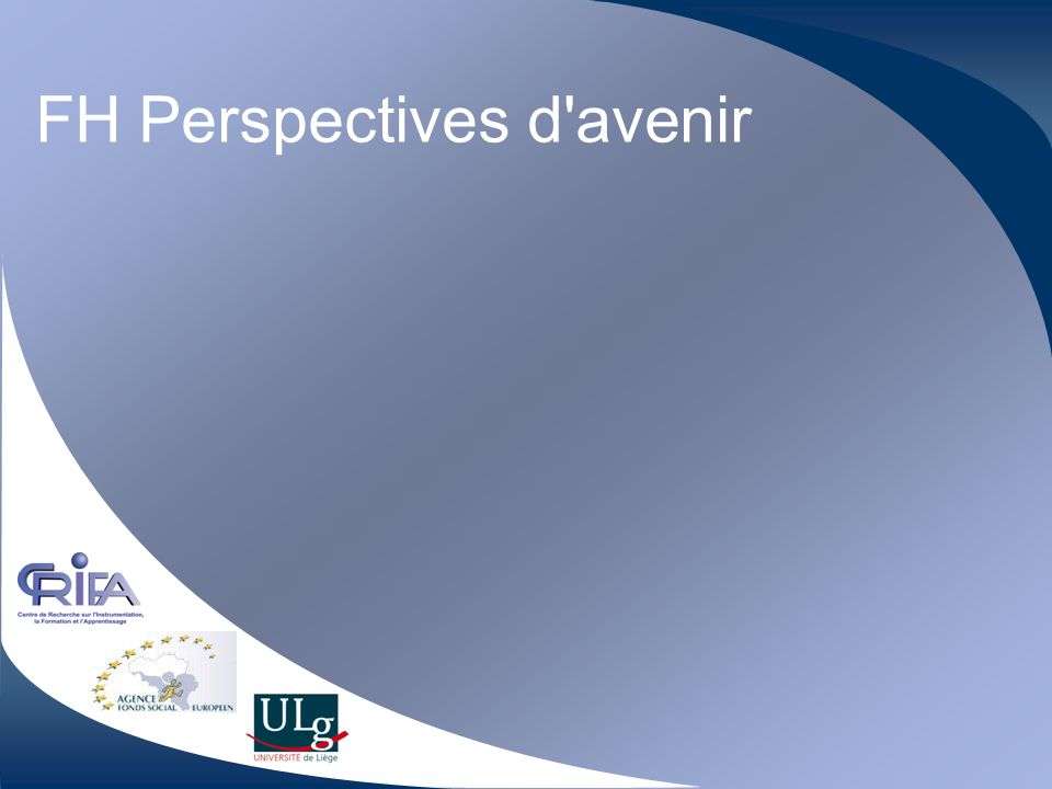 FH Perspectives d avenir