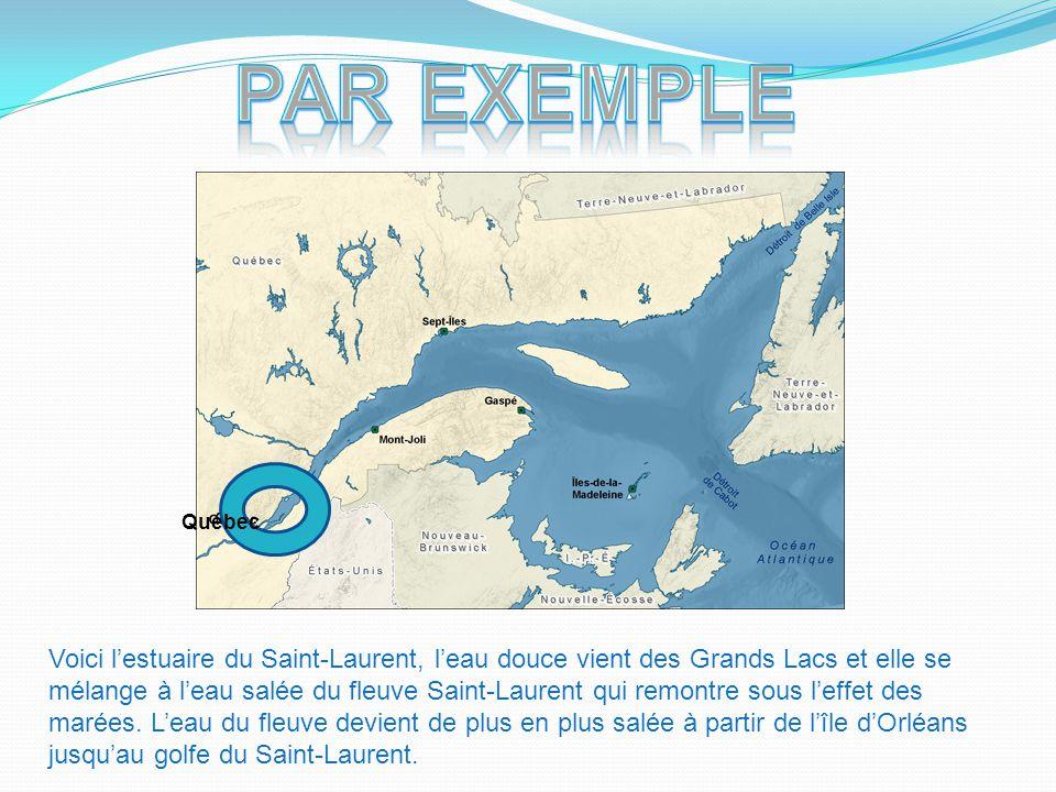 Par exemple Québec.