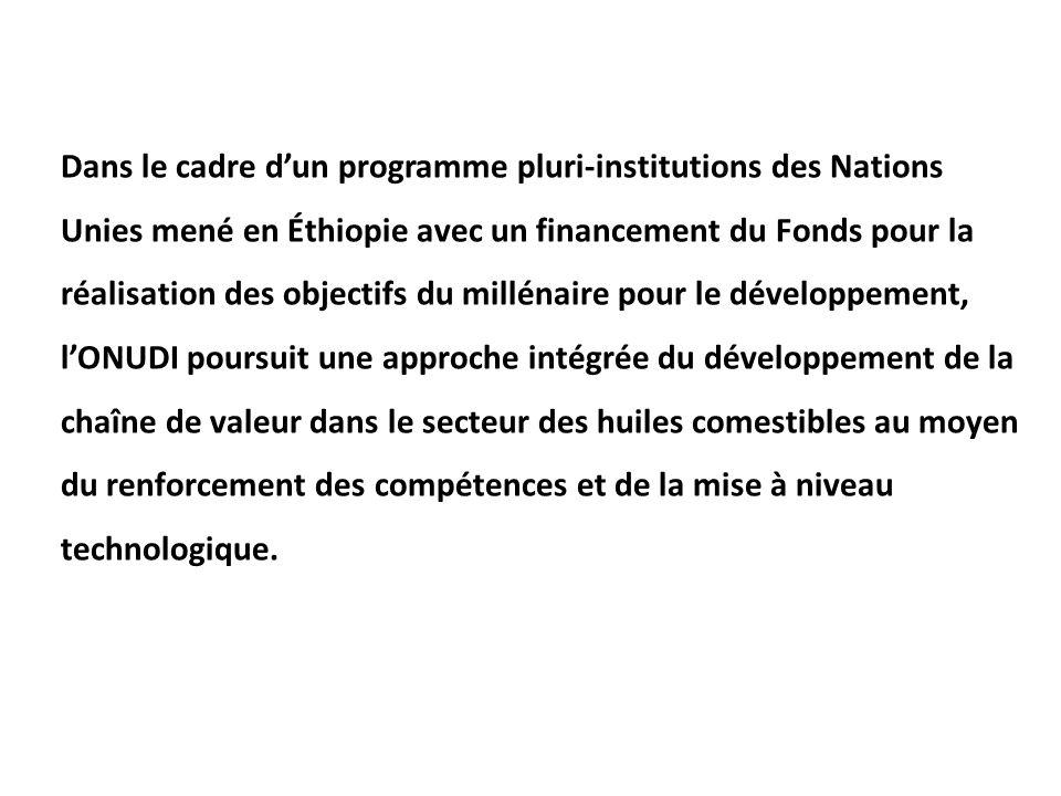16. Dans le cadre d'un programme pluri-institutions des Nations Unies mené en
