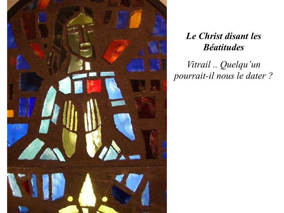 Le Christ disant les Béatitudes