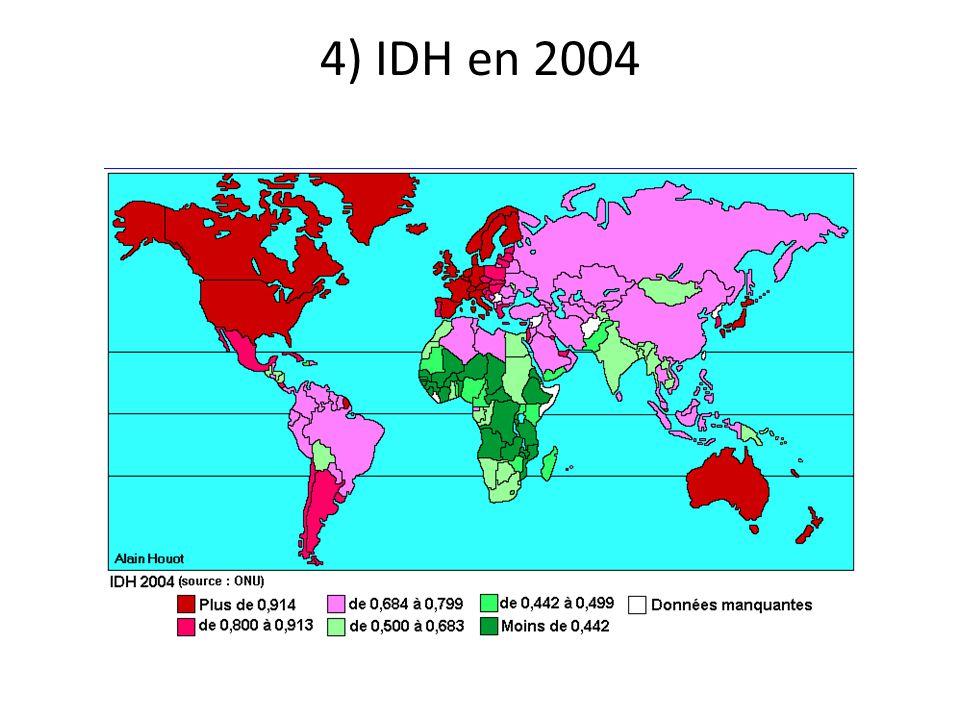 4) IDH en 2004