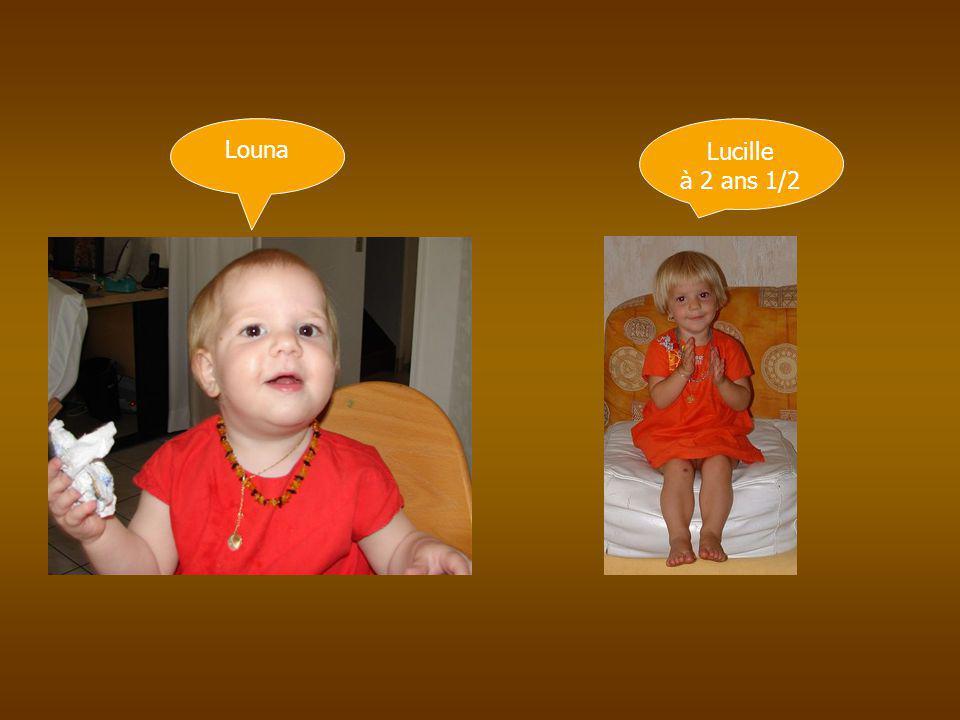 Louna Lucille à 2 ans 1/2