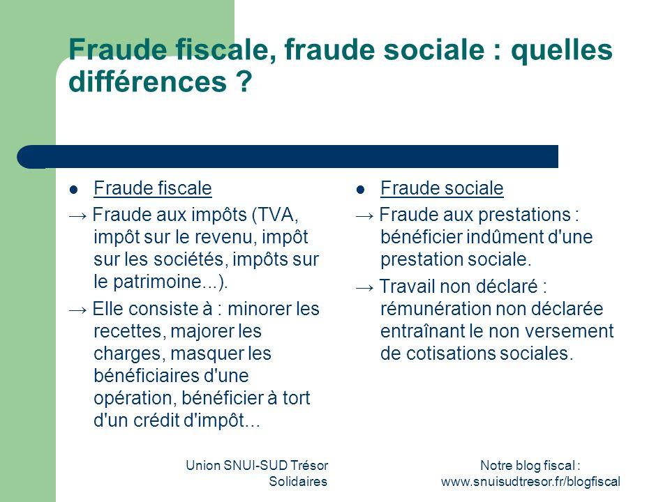 Fraude fiscale, fraude sociale : quelles différences
