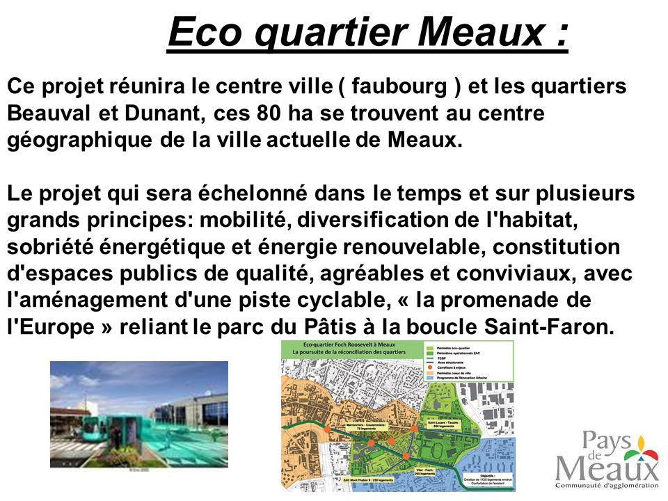 Eco quartier Meaux :