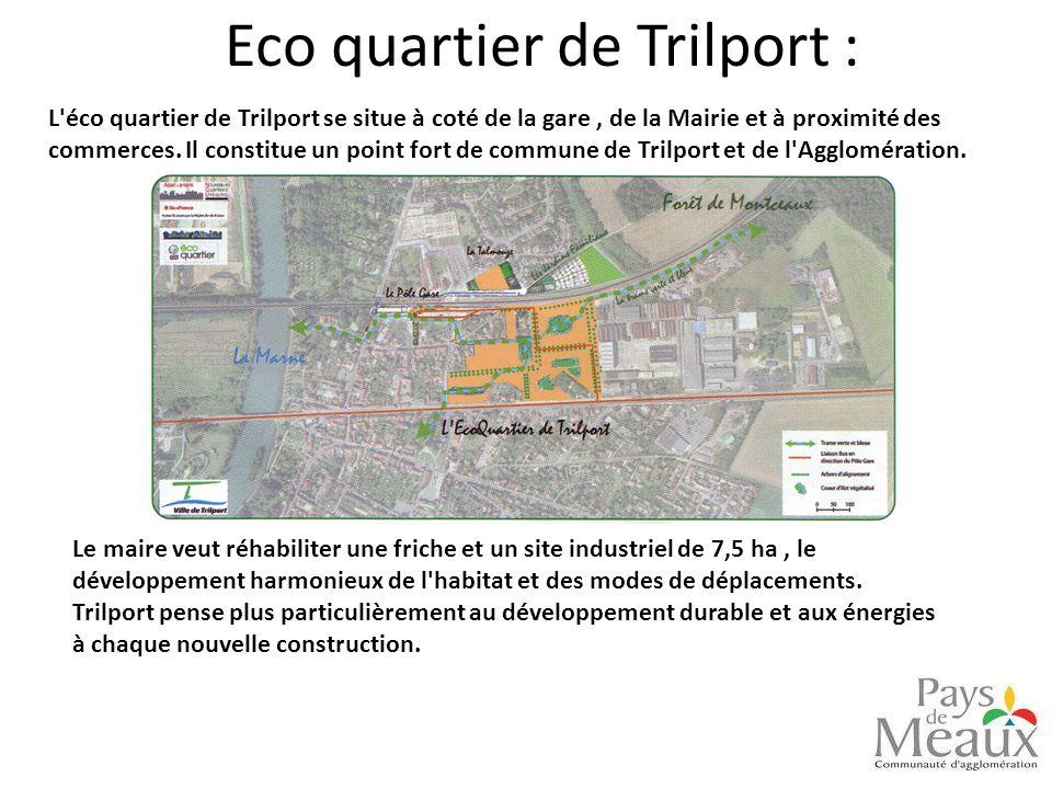 Eco quartier de Trilport :