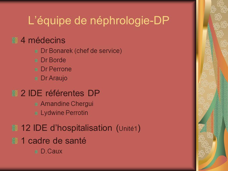 L'équipe de néphrologie-DP