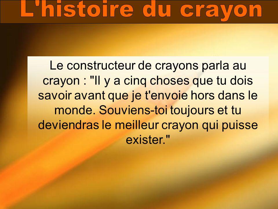 L histoire du crayon