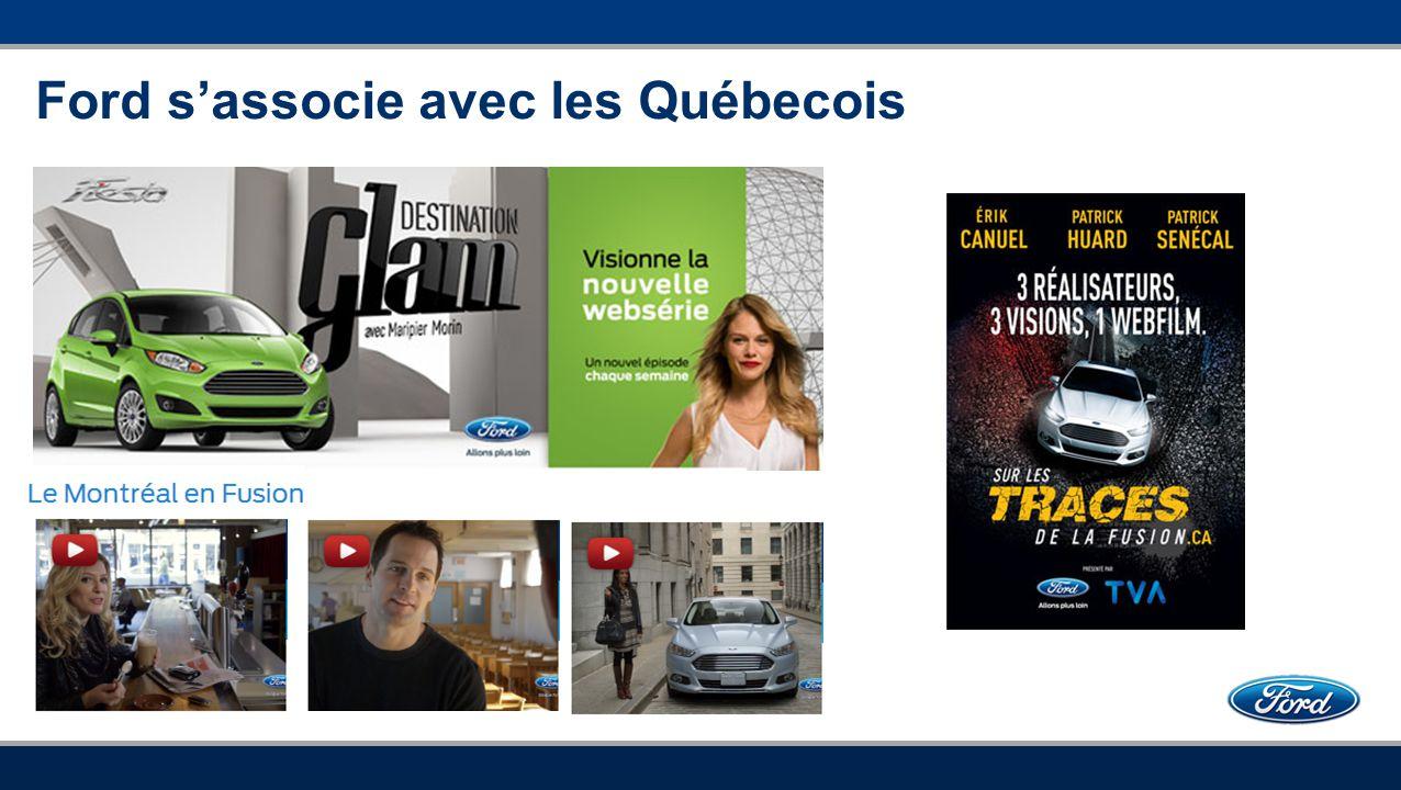 Ford s'associe avec les Québecois