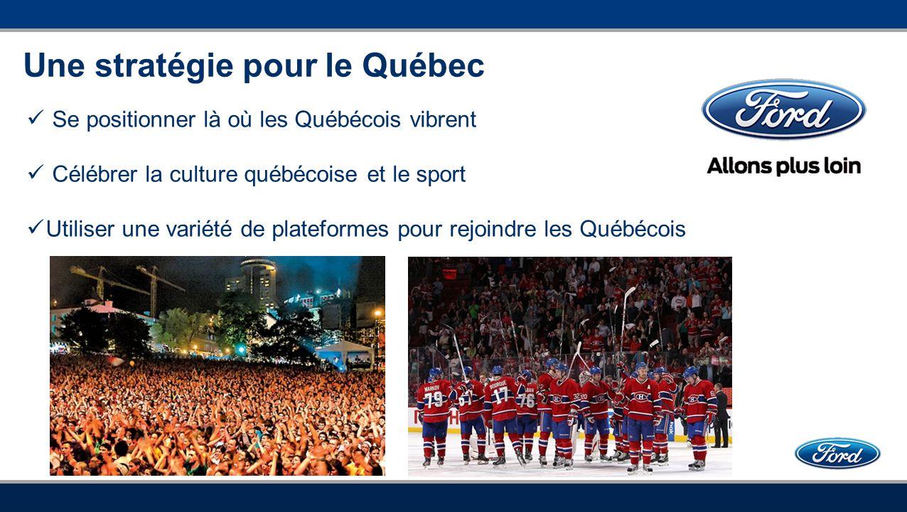 Une stratégie pour le Québec