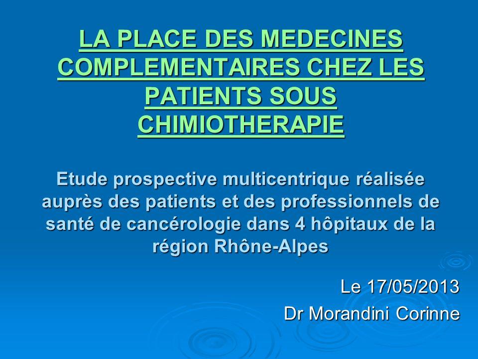 Le 17/05/2013 Dr Morandini Corinne
