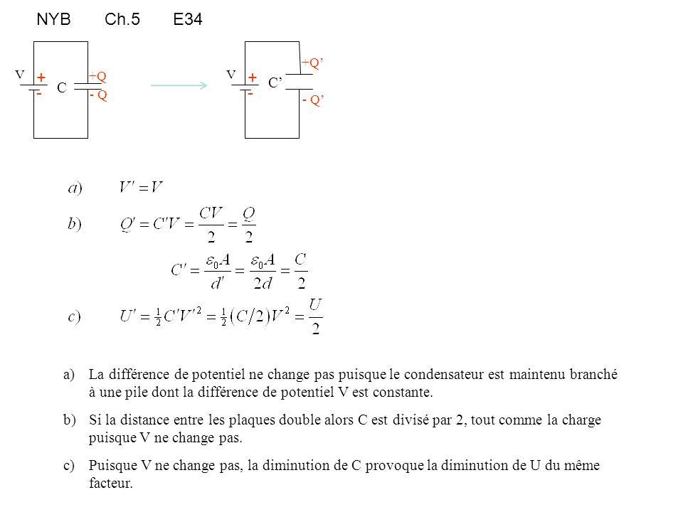NYB Ch.5 E34 C. C' +Q' - Q' + - V. +Q. - Q. + - V.
