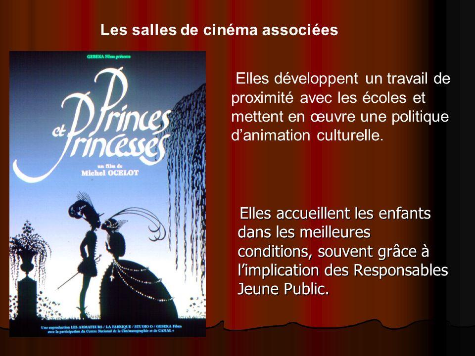 Les salles de cinéma associées