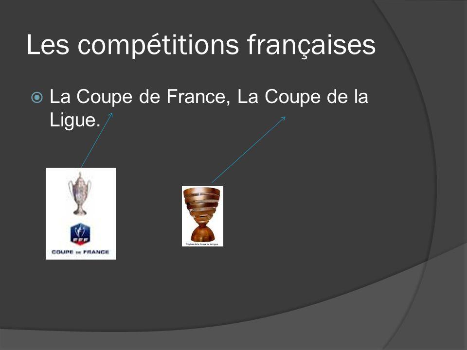 Les compétitions françaises