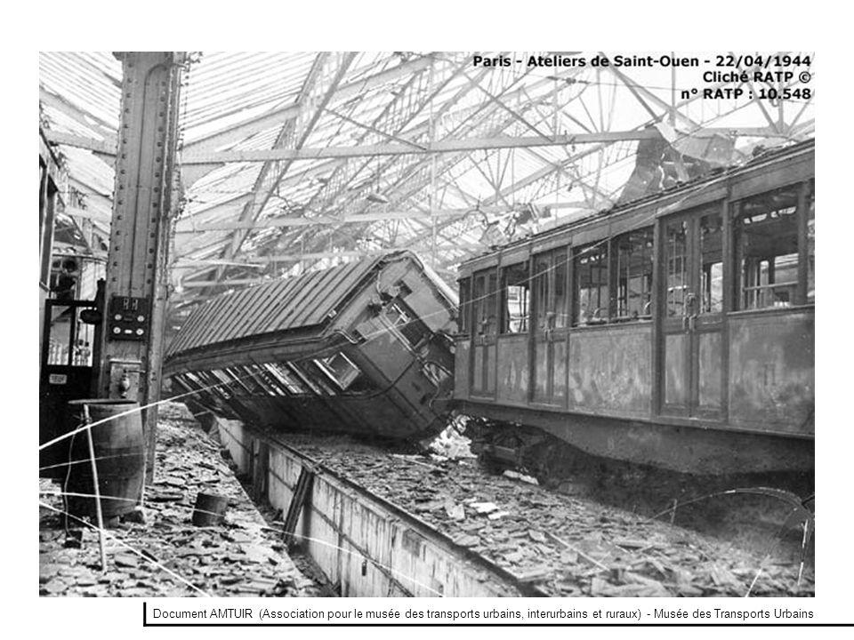 Document AMTUIR (Association pour le musée des transports urbains, interurbains et ruraux) - Musée des Transports Urbains