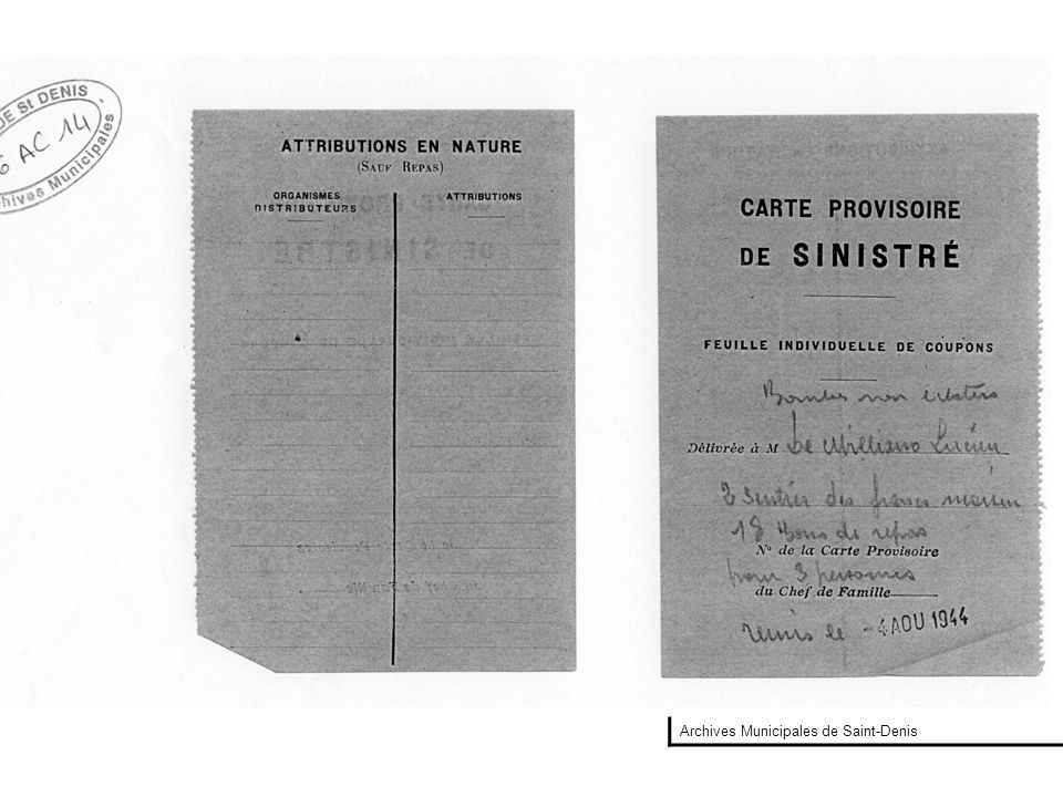 Archives Municipales de Saint-Denis