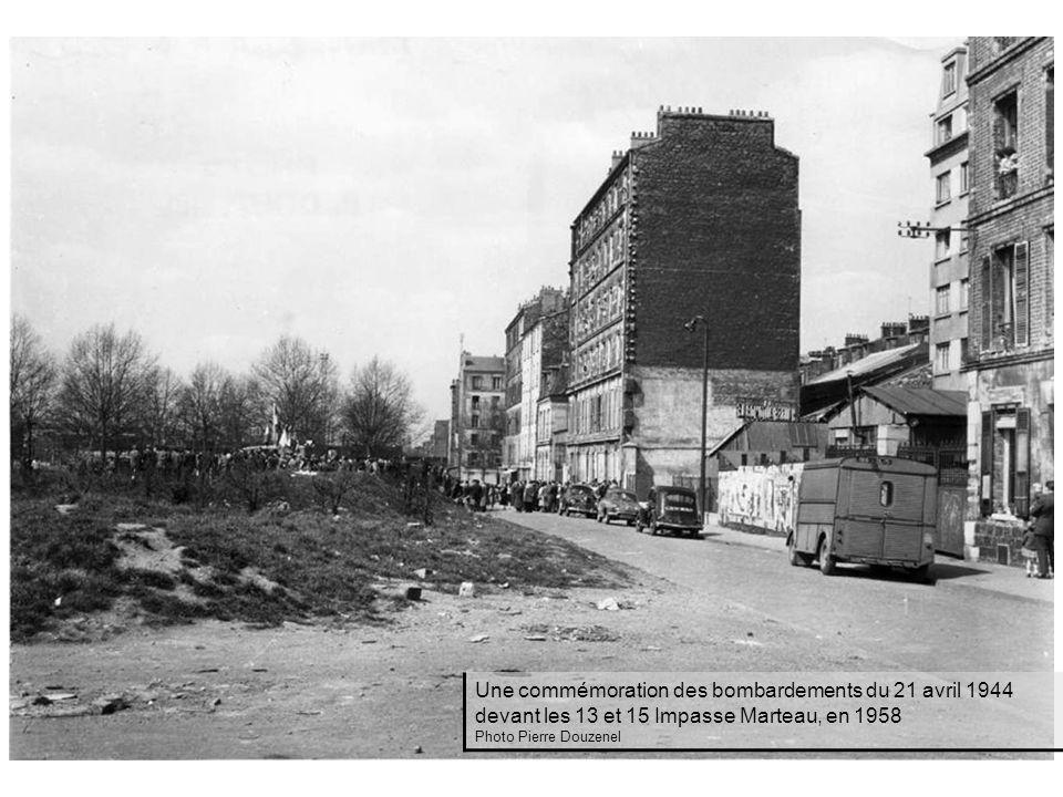 Une commémoration des bombardements du 21 avril 1944