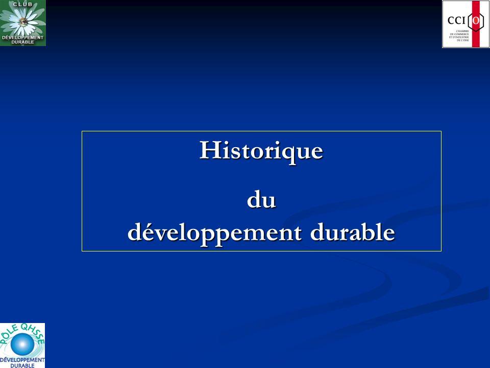 du développement durable