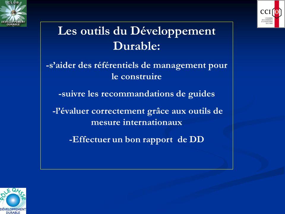 Les outils du Développement Durable: