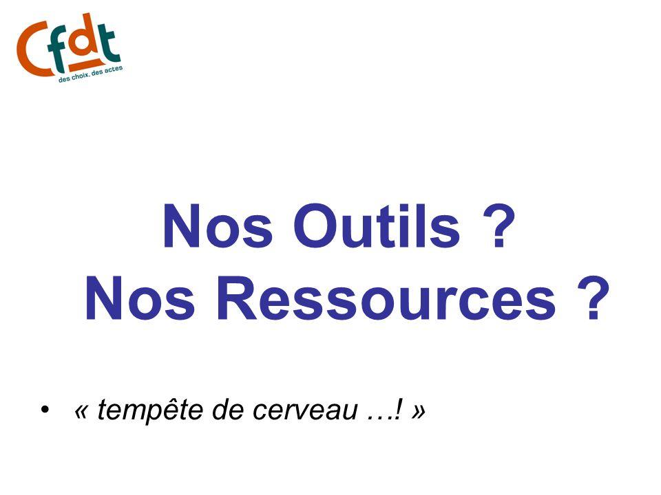 Nos Outils Nos Ressources