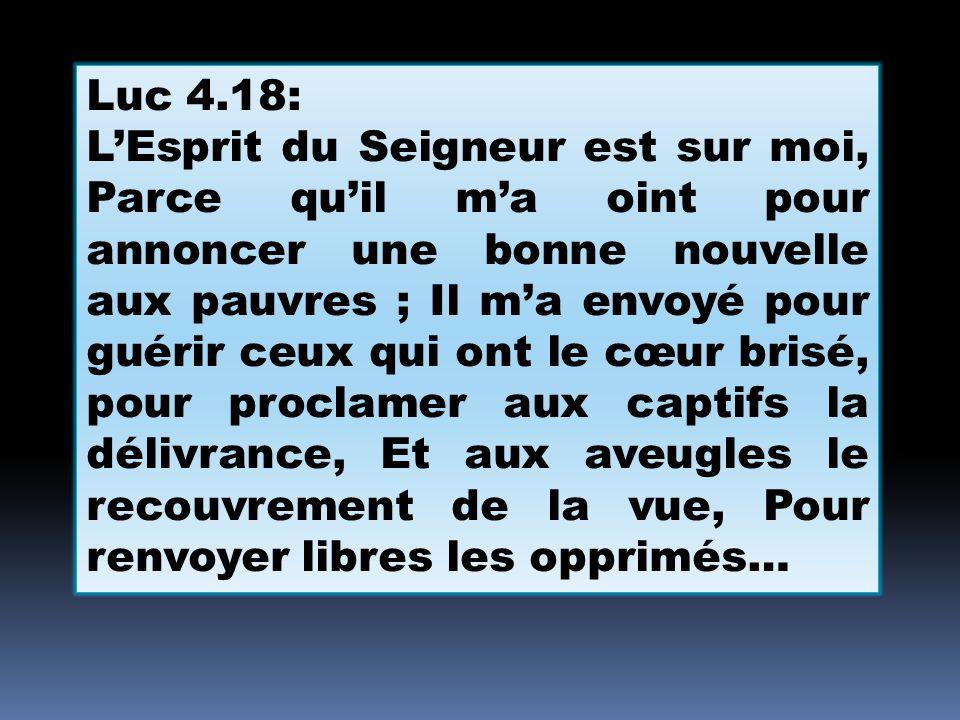 Luc 4.18: