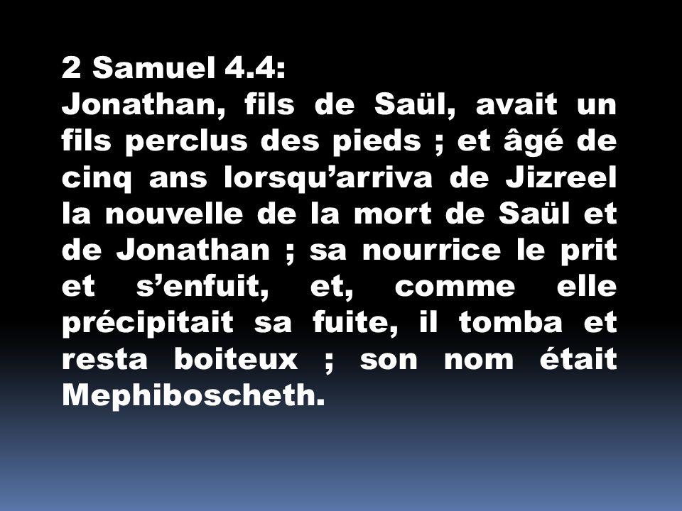 2 Samuel 4.4: